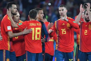 Spain vs Russia World Cup 01.07.2018