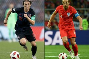 Croatia vs England World Cup 11.07.2018