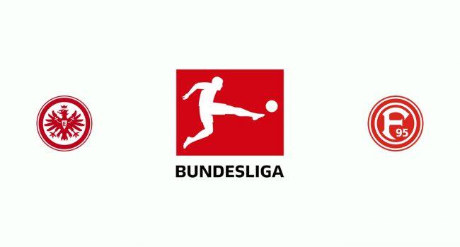 Eintracht Frankfurt vs Fortuna Düsseldorf Free Betting Tips 19/10